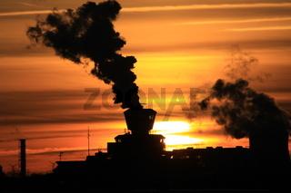 Tower im Sonnenuntergang