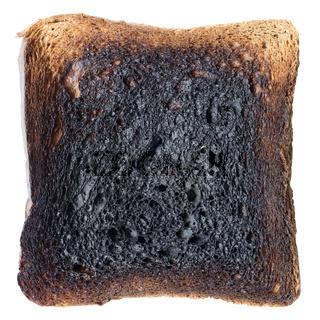 burned toast