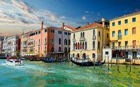Sunny summer Venice