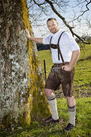 bavarian traditional man