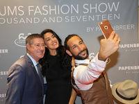 Joachim Llambi, Rebecca Mir & Massimo Sinato bei 25 Jahre Papenbreer Magdeburg, Große Internationale Fashionshow am 20.09.2017 in Magdeburg