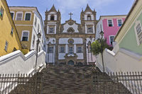 Salvador de Bahia, Traditional Church, Brazil, South America