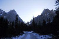 Wanderung in den Dolomiten