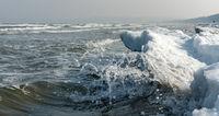 Schnee an der Ostsee