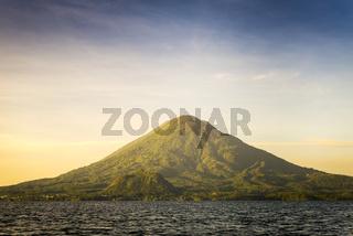 Volcano Toliman On Lake Atitlan