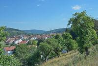 Mittelsinn im Sinntal,Spessart,Unterfranken,Bayern,Deutschland