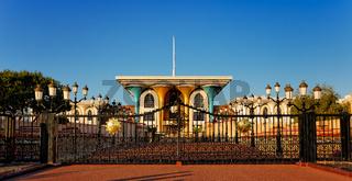 Al Alam Palace - Qaboos bin Said al Said. Old Muscat. Sultanate of Oman. Saltanat ʿUmān.
