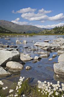 Lago Presena am Passo del Tonale / mountain lake