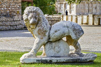 Marble lion, Aphrodisias, Turkey