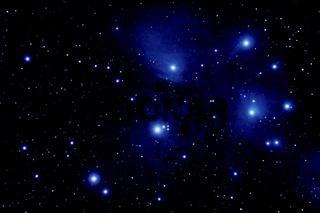 Siebengestirn - Plejaden M 45 - Pleiades -