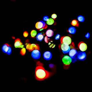 Bokeh. Multicolored bokeh. Colored abstract background. layout design can be used for a background concept or festival background.