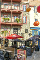 A Quite Bar In The Street, Quebec City, Canada