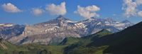 Summern scene near Gstaad, Switzerland.
