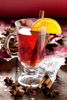 Punsch zu Weihnachten / fresh mulled wine for christmas