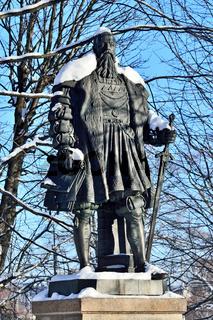 Denkmal von Herzog Albrecht. Kaliningrad, ehemals Königsberg, Russland
