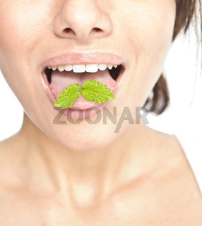 Mint on Tongue