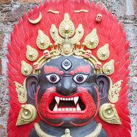 Bhairab Mask from Nepal