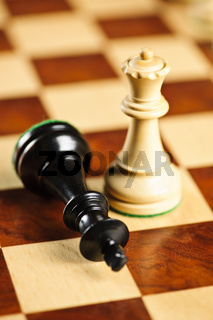 Checkmate in chess