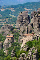 Mountain Monastery in Meteora, Greece