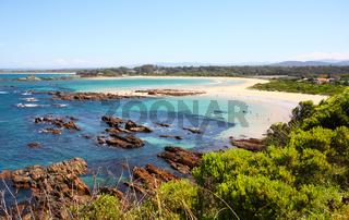 Holiday makers enjoy the beautiful beaches of Australia