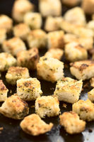 Freshly Baked Croutons