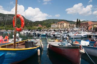 Fischerhafen von Garda, Gardasee Italien