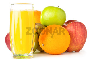 fruits with juice