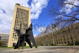 Skulptur Das Grosse Segel, MIT, Cambridge, USA