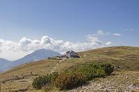Damiano-Chiesa-Hütte im Monte Baldogebiet