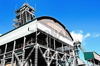 Industrie-Denkmal Zeche Westfalen Ahlen Deutschland neu-alt