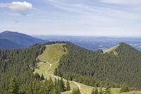 Hörnle Gipfeln in Oberbayern