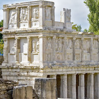 Low Relief Figures Sebasteion Aphrodisias, Anatolia, Turkey