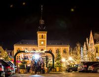 Traditional German Christmas Market in Pfaffenhofen
