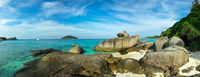 Panorama of Similan islands