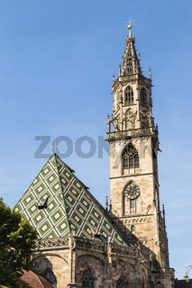 Dom Maria Himmelfahrt oder Bozner Dom, Bozen, Italien, bolzano cathedral, Italy