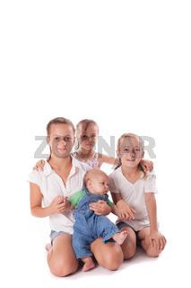 Portrait of three sisters