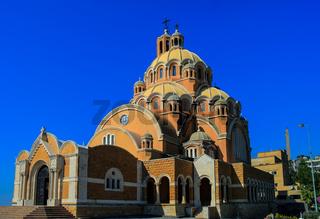 Basilica of Saint Paul near Harissa mount, Lebanon