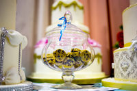 Cookies in glass jar