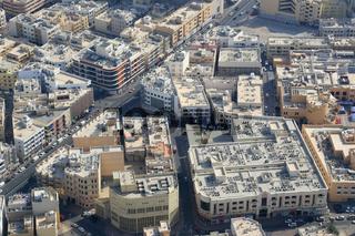 Dubai Jumeirah Luftaufnahme Luftbild