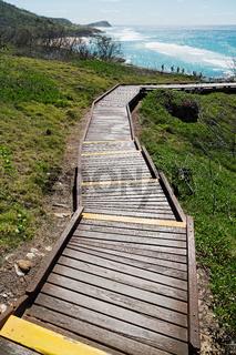 in australia  the  walkway to the beach