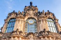Detailaufnahme Zwinger in Dresden