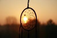 Traumfänger vor Sonnenaufgang