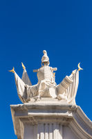 Sculpture at Bratislava Castle