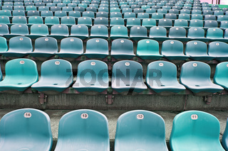 Sitze im Fußballstadion 4