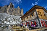Berghütte Rifugio Lavaredo