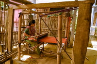 Weaving in Bangladesh