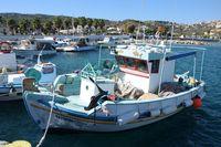 Hafen von Kamari bei Kefalos, Kos