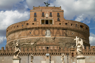 Castel Sant'Angelo in Rome Italy