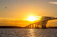 Tokyo Gate Bridge Sunset