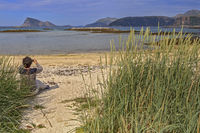 Capturing The Scene Beach At Sommaroy Island, Tromso, Norway
